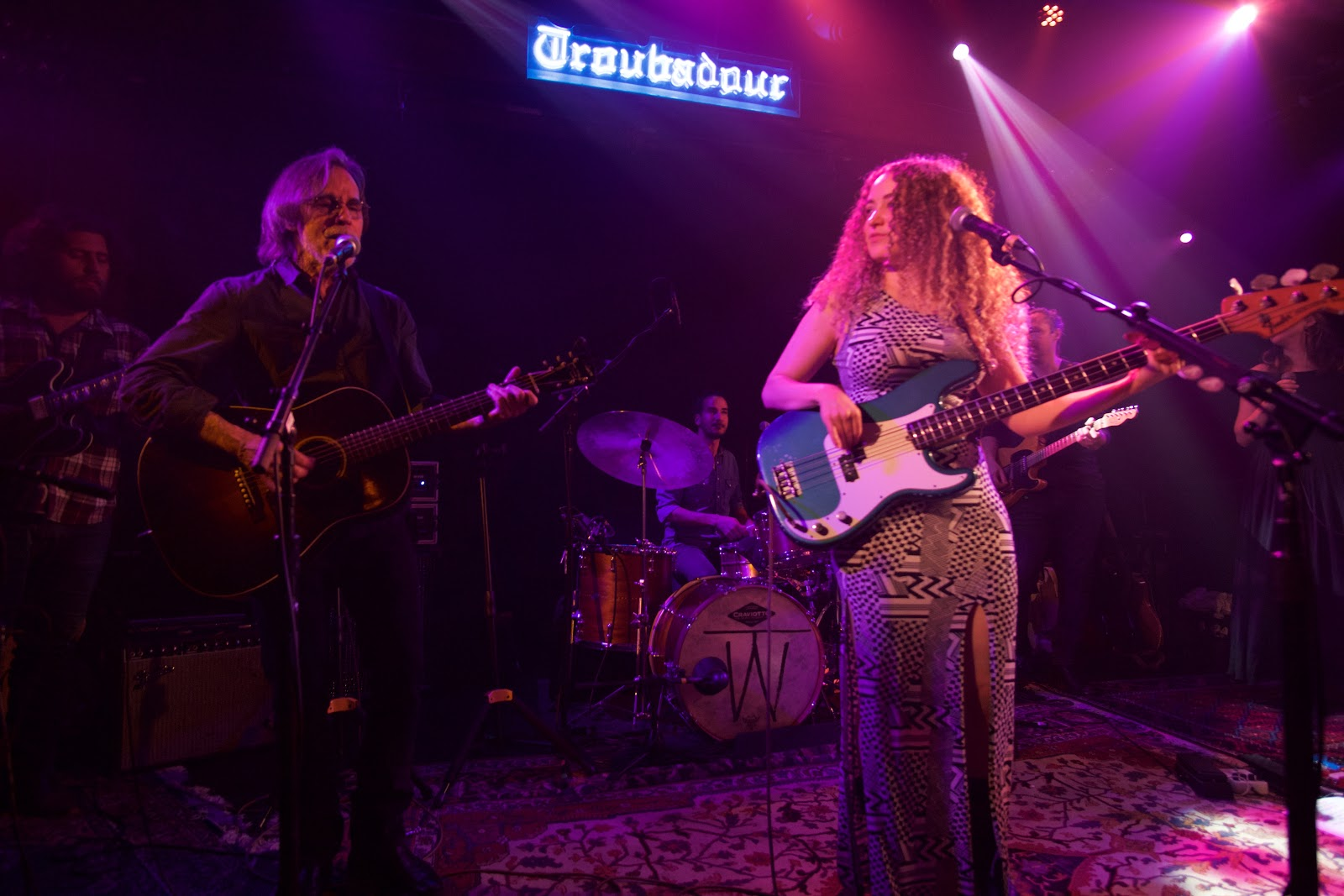 image Tal Wilkenfeld welcomes special guests Jackson Browne and Becca Stevens at the Troubadour in Los Angeles