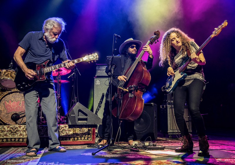 image Bob Weir and Wolf Bros welcome special guest Tal Wilkenfeld in Santa Barbara
