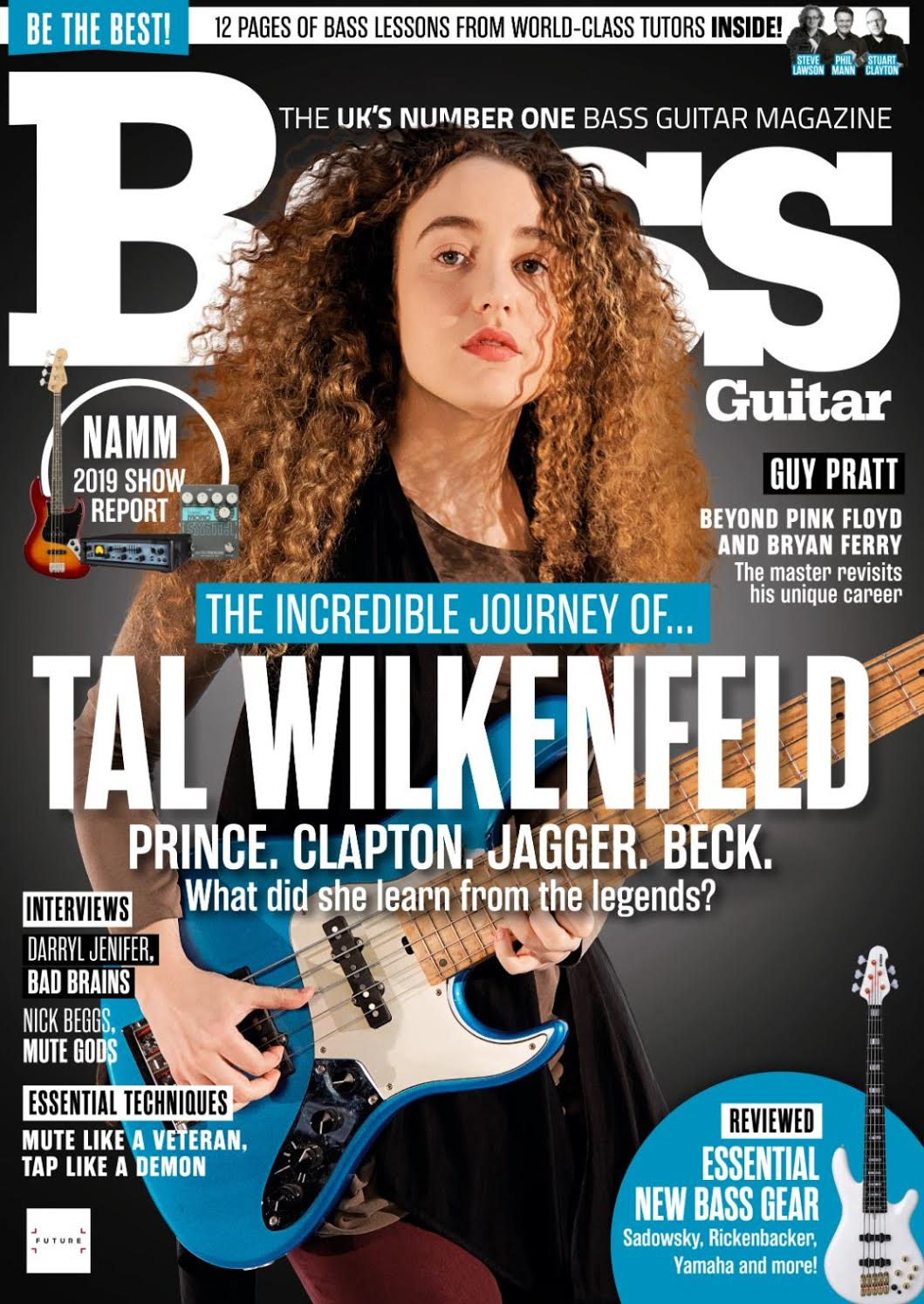 image TAL IS ON THE COVER OF THIS MONTH'S GUITAR MAGAZINE!