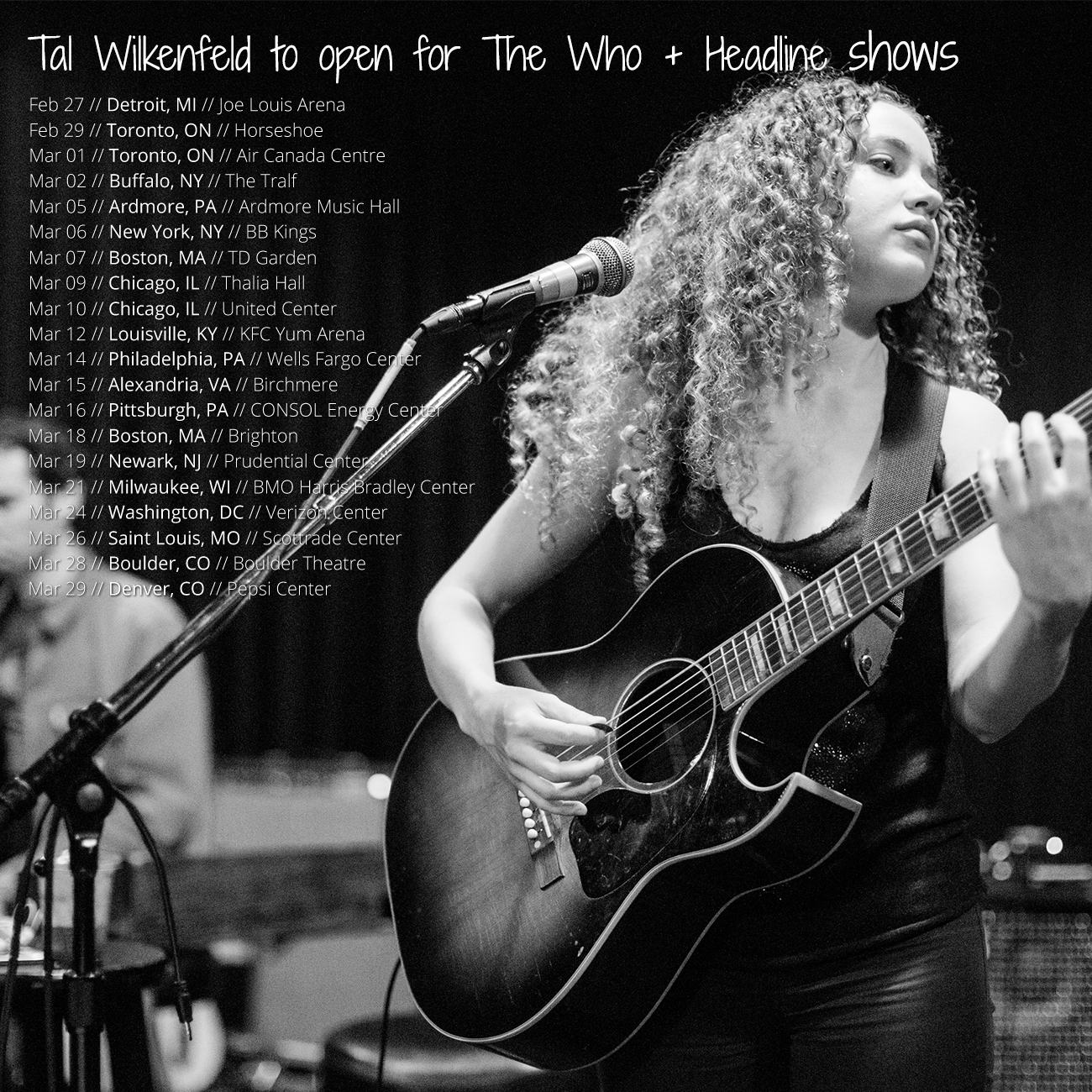 image Tal Wilkenfeld on tour with The Who